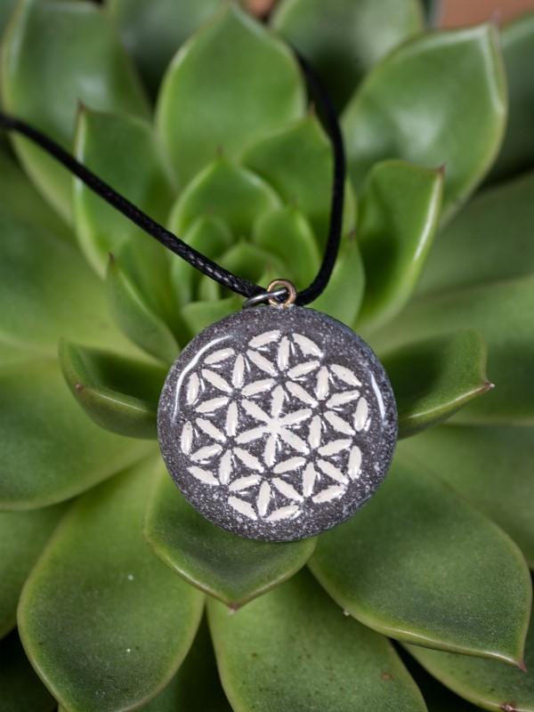 Roža življenja-ogrlica