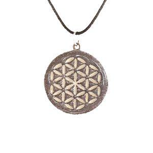 roža-življenja-obesek-verižica-unikatni nakit