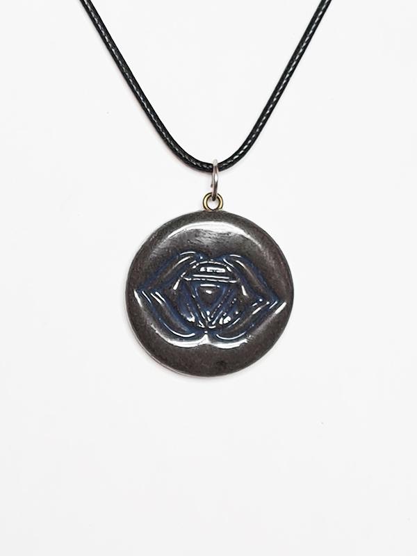 čakra-unikatni-nakit-obesek-verižica-ročno delo-joga-meditacija-tretje oko-ajna