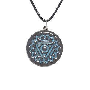 unikatni nakit-ogllica-verižica-obesek-čakra-meditacija-joga