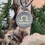 libra zodiac necklace
